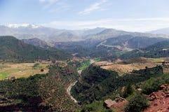 Verbazend landschap Stock Afbeelding