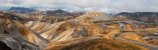 Verbazend landschap in IJsland royalty-vrije stock foto's