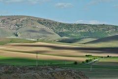 Verbazend landschap in Macin-bergen Stock Afbeelding
