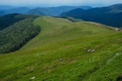 Verbazend landschap Targu Jiu Stock Foto's