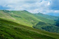 Verbazend landschap Targu Jiu Stock Afbeelding