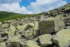 Verbazend landschap Targu Jiu Stock Foto