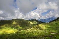Verbazend landschap in Tirol royalty-vrije stock foto's