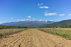Verbazend Landschap van Rila Montain dichtbij dorp van Stob, Bulgarije Royalty-vrije Stock Fotografie