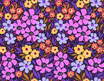 Verbazend naadloos bloemenpatroon Royalty-vrije Stock Foto's