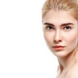 Make up blond haar blauwe ogen