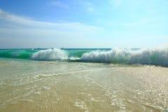 Verbazend schoonheids Caraïbisch overzees strand Het eiland van Aruba royalty-vrije stock foto's