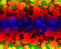 Verbazende 3D-gevolgAchtergrond Royalty-vrije Stock Afbeelding