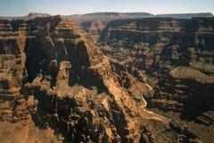 Verbazende bergen en rotsen van Grote Canion Royalty-vrije Stock Afbeeldingen
