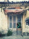Verbazende deur Stock Foto