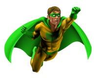 Verbazende Illustratie Superhero Royalty-vrije Stock Afbeeldingen