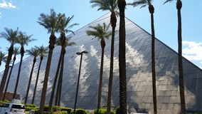 Verbazende Luxor-Hotelpiramide Las Vegas NV Stock Foto's