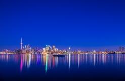 Verbazende mening van Stad van Toronto Ontario Canada stock fotografie