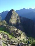 Verbazende plaatsen van Machu Picchu Stock Foto's