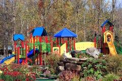 Verbazende speelplaats Stock Fotografie