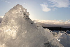 Verbazende stukken ijsijsschollen Royalty-vrije Stock Foto's