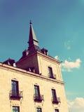 Verbazende Toren in Lerma Stad in Spanje Royalty-vrije Stock Afbeelding