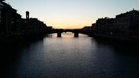 Verbazende zonsondergang! Royalty-vrije Stock Foto's