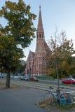 Verbesserte Kirche in Budapest lizenzfreies stockfoto