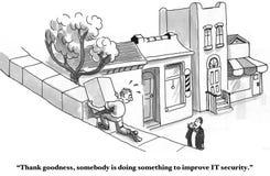 Verbesserte IT-Sicherheit Lizenzfreie Stockfotos