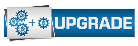 Verbesserung mit Gang-Blau Grey Horizontal lizenzfreie abbildung