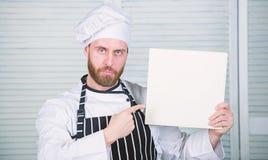 Verbeter het koken vaardigheid Uiteindelijke kokende gids voor beginners De ruimte van het de receptenexemplaar van de boekfamili stock fotografie