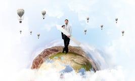 Verbetering en ontwikkeling van zaken royalty-vrije stock afbeelding