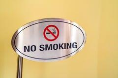 Verbiedend rokend teken royalty-vrije stock afbeelding