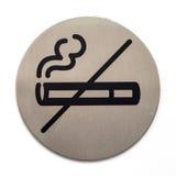 Verbiedend rokend teken royalty-vrije stock afbeeldingen