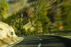 Verbiegende Straße (beweglicher Effekt) Lizenzfreie Stockbilder