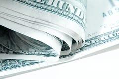 Verbiegendes Geld, kalter Ton Stockbilder
