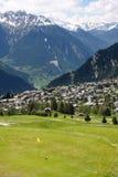 verbier的瑞士 免版税库存照片