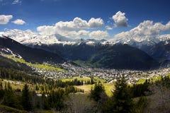 Verbier, Svizzera Fotografia Stock
