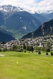 Verbier, Switzerland Royalty Free Stock Photos