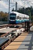 Verbind het Lichte 3de Jaar Succe van het Spoorwegvervoer Stock Afbeeldingen