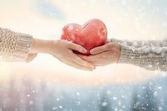 Verbinden Sie am Valentinsgrußtag lizenzfreie stockfotografie