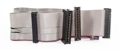 Verbindende kabels en adapters Royalty-vrije Stock Afbeelding