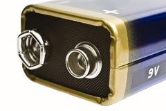 Verbindungsstück der Batterie 9V lizenzfreie stockfotos