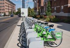 Verbinding Dayton Bike Share stock afbeelding