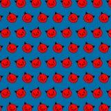 Verbinding - emojipatroon 79 vector illustratie
