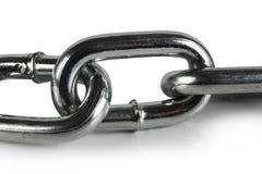 Verbindingen in de ketting. Stock Afbeelding