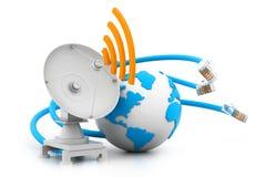 Verbindung des globalen Netzwerks Lizenzfreie Stockfotografie
