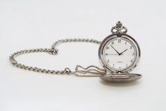 In Verbindung stehende Meldung der Taschen-Uhr der Liebe Stockbilder