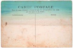 In Verbindung stehende Nachricht der sammelbaren Post Antike Stockfotografie