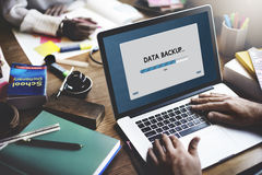 Verbindungs-Datenströmungs-Download-Archivierungskonzept lizenzfreie stockfotografie