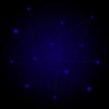 Verbindungs-Konzept-Hintergrund Stockfotografie