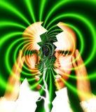 Verbindungsaufspaltung-Kopfschmerzen 6 Lizenzfreies Stockbild
