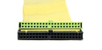 Verbindungskabel und Adapter Stockbilder