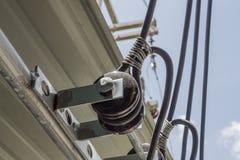 Verbindungsstück elektrisch stockbild