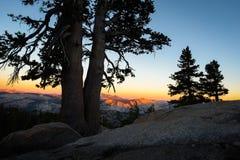 Verblassende Sierra Sonnenlicht lizenzfreies stockbild